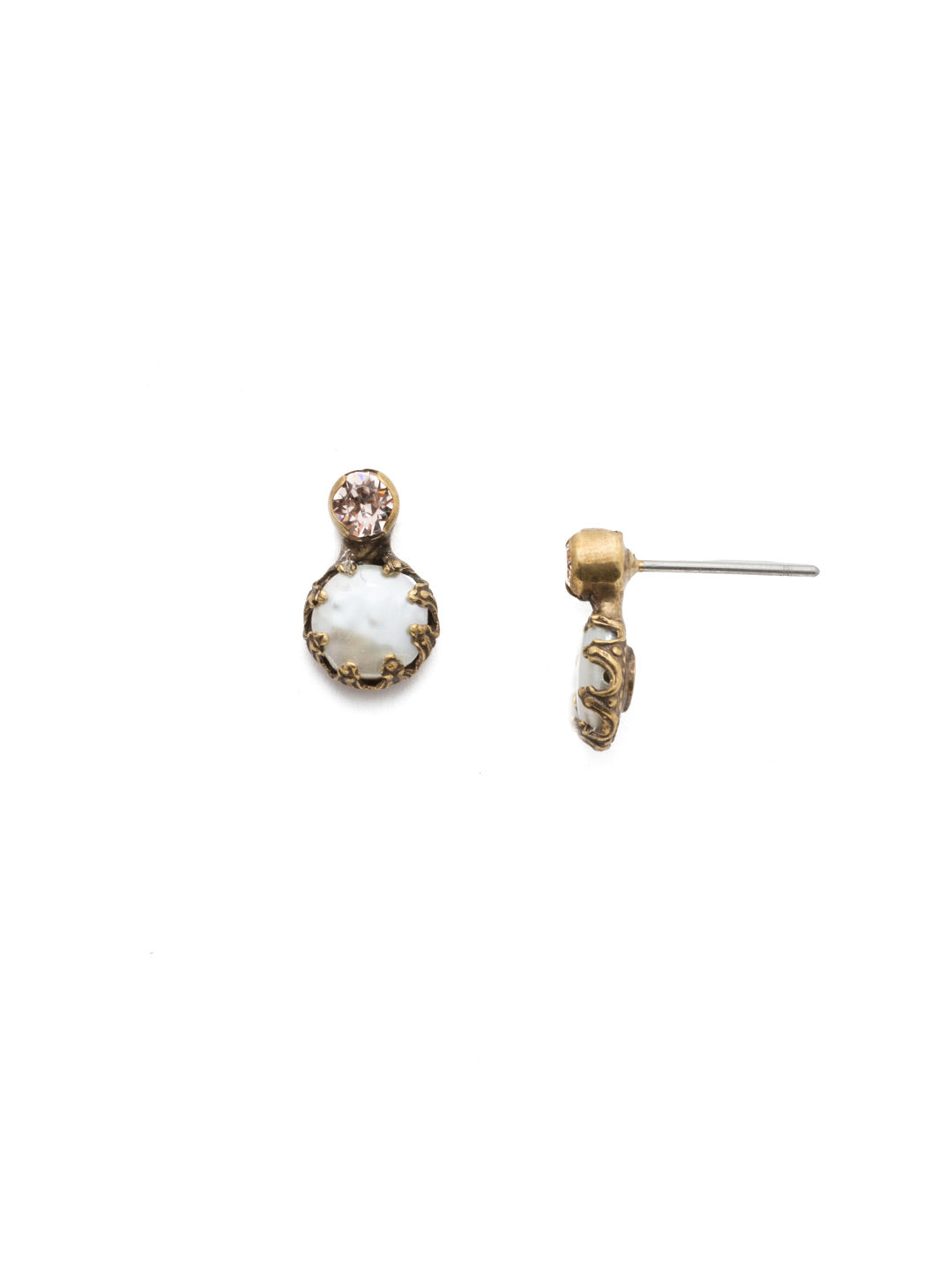 Katarina Stud Earrings - EEP2AGSDE