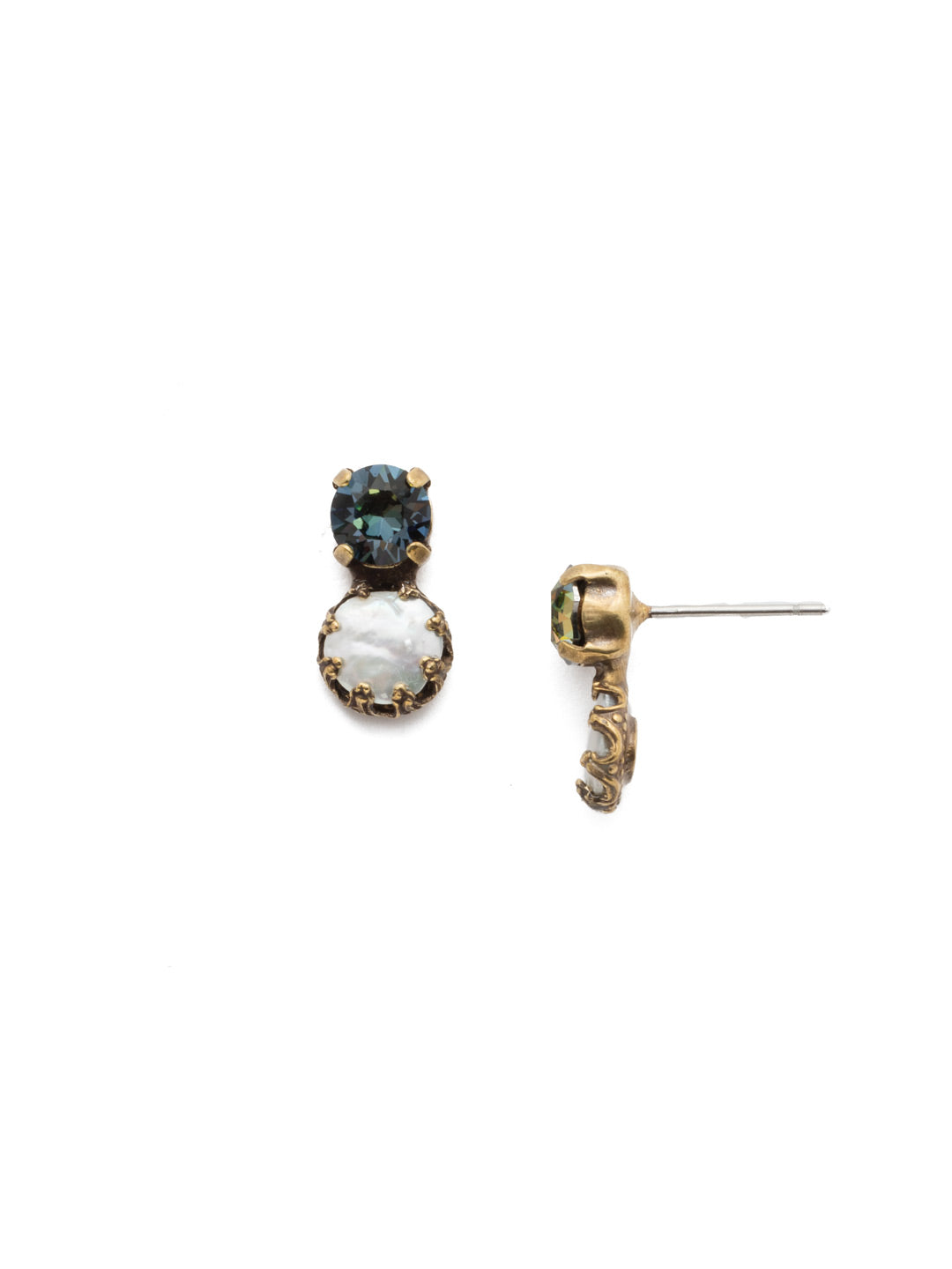 Harttley Stud Earrings - EEP3AGSDE