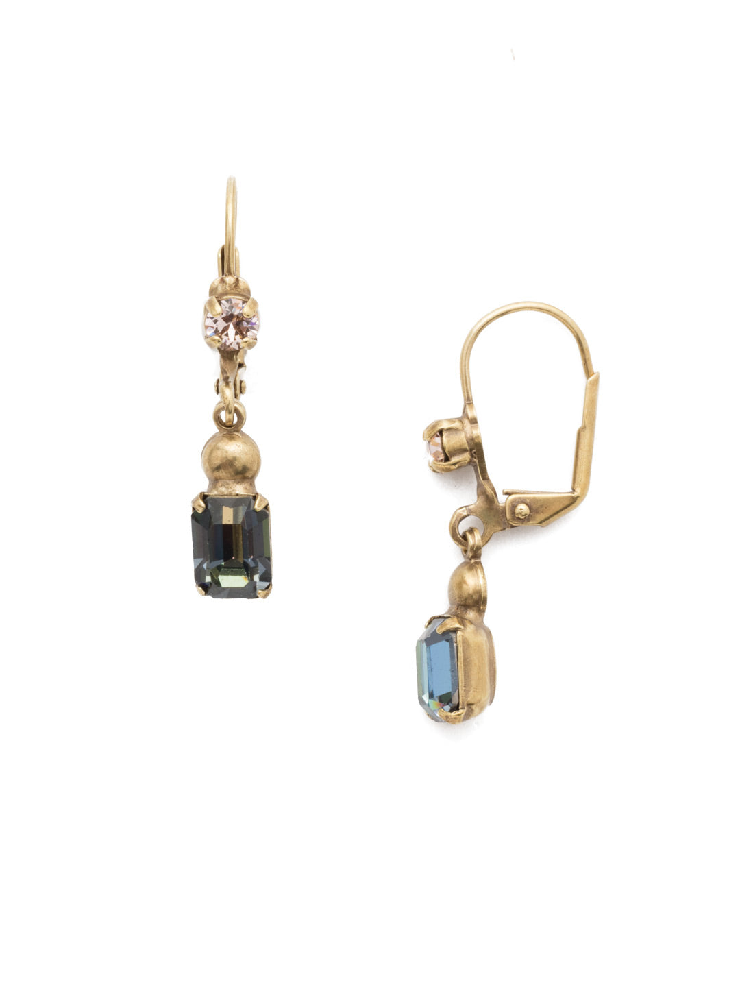 Simonetta Dangle Earrings - EEP40AGSDE