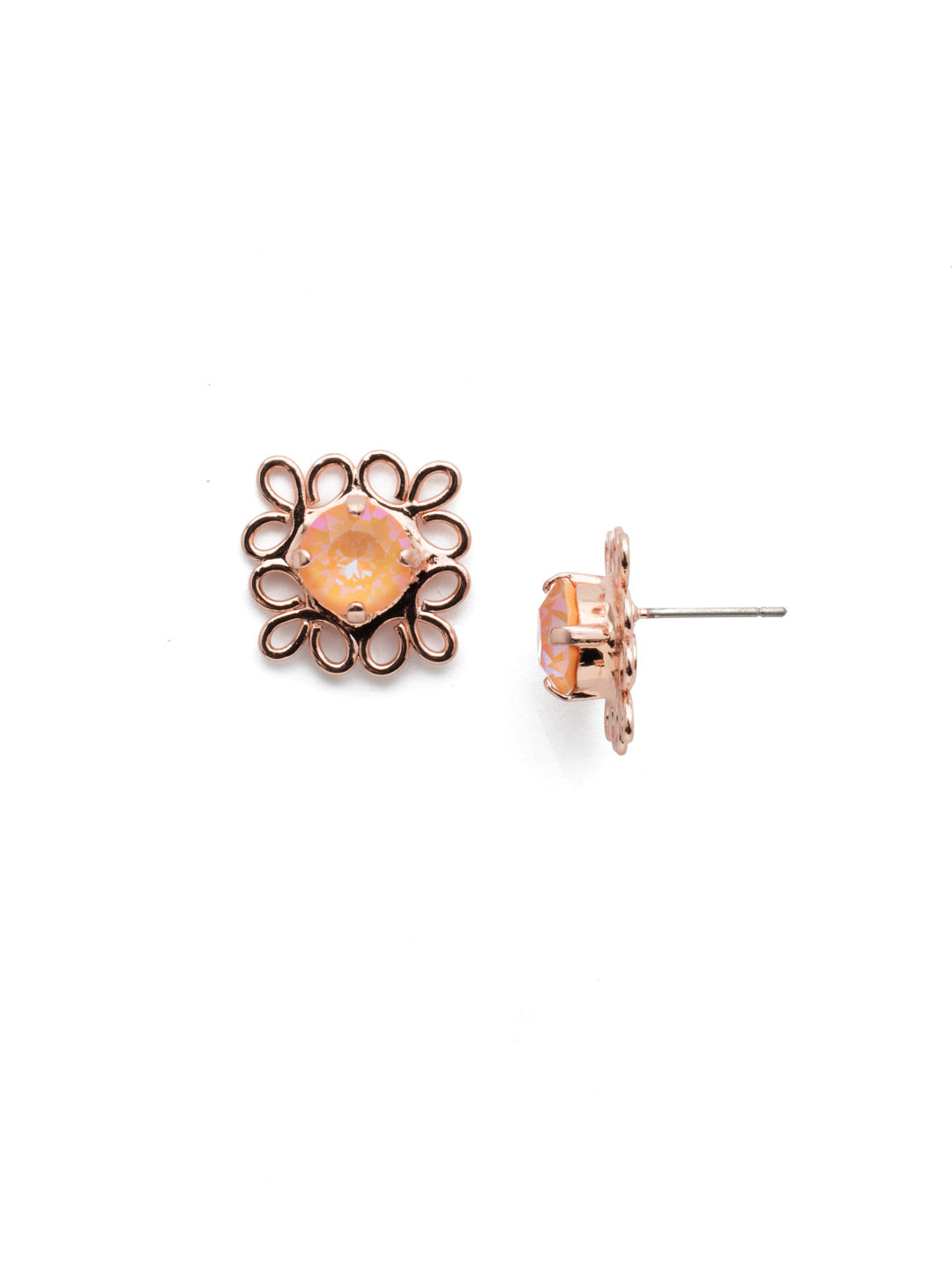 Zahara Stud Earrings - EES14RGLVP