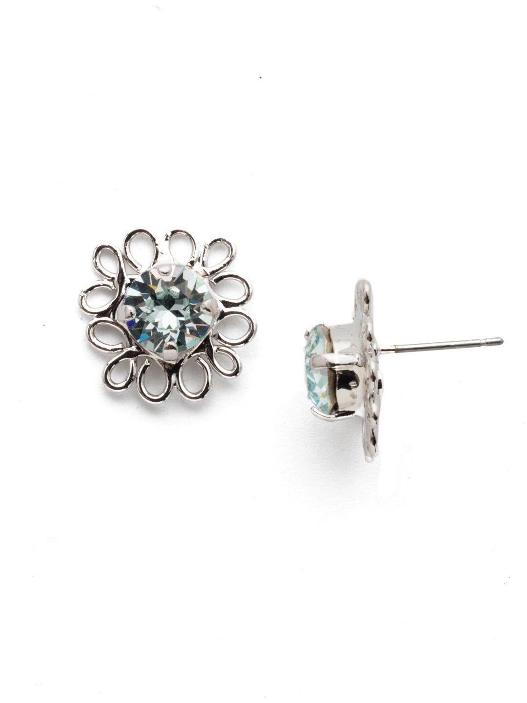 Zahara Stud Earrings - EES14RHNTB