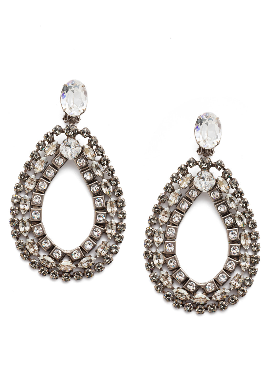 Alvian Statement Earrings - ESP74CASSSH