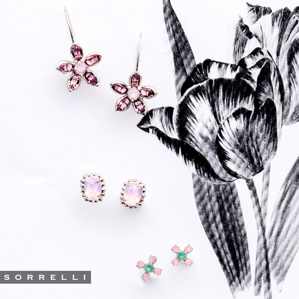 Petal Perfect Dangle Earring - EEK1RHTUL