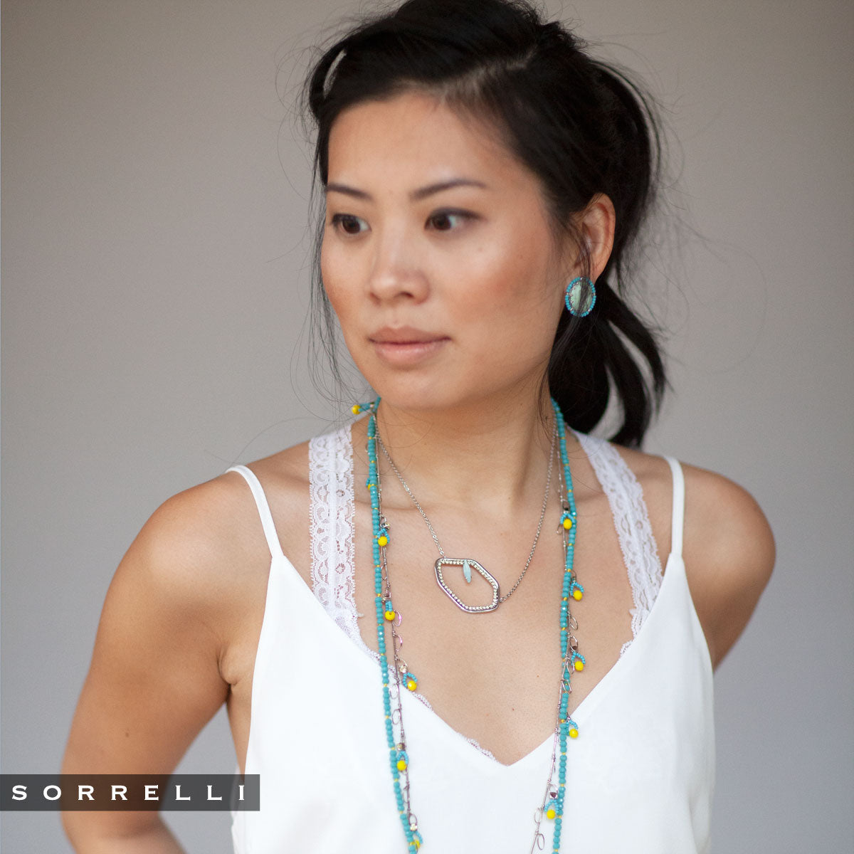 Dream Long Strand Necklace - NEH21RHTHT