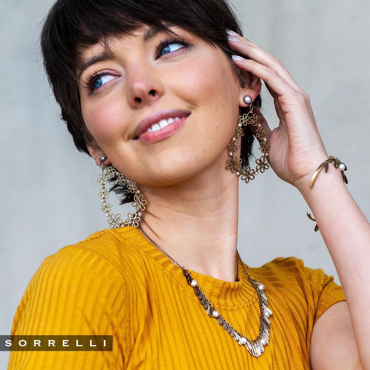Citron Statement Earrings - 4EES1AGMDP