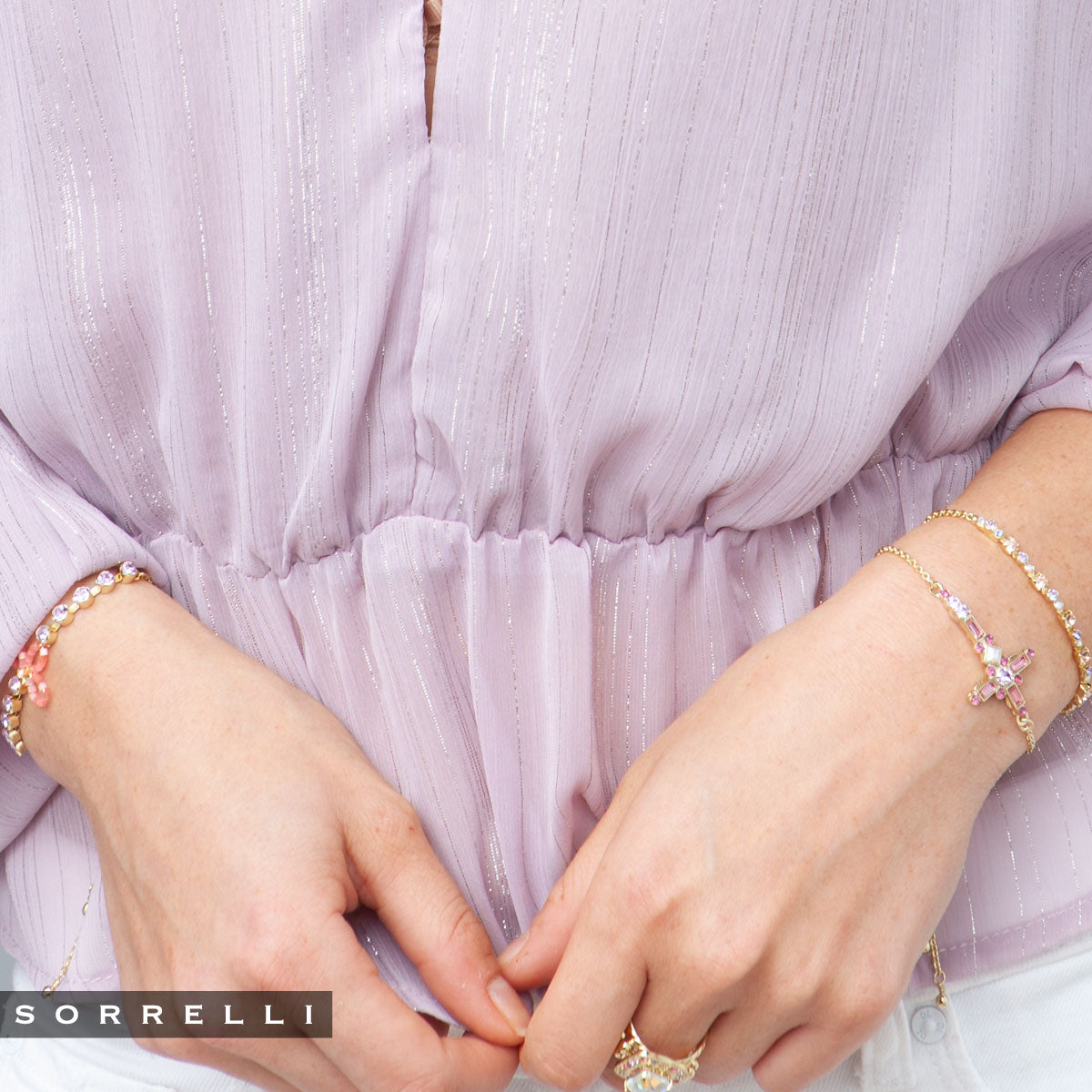 Morning Mist Slider Bracelet - BEK41BGISS