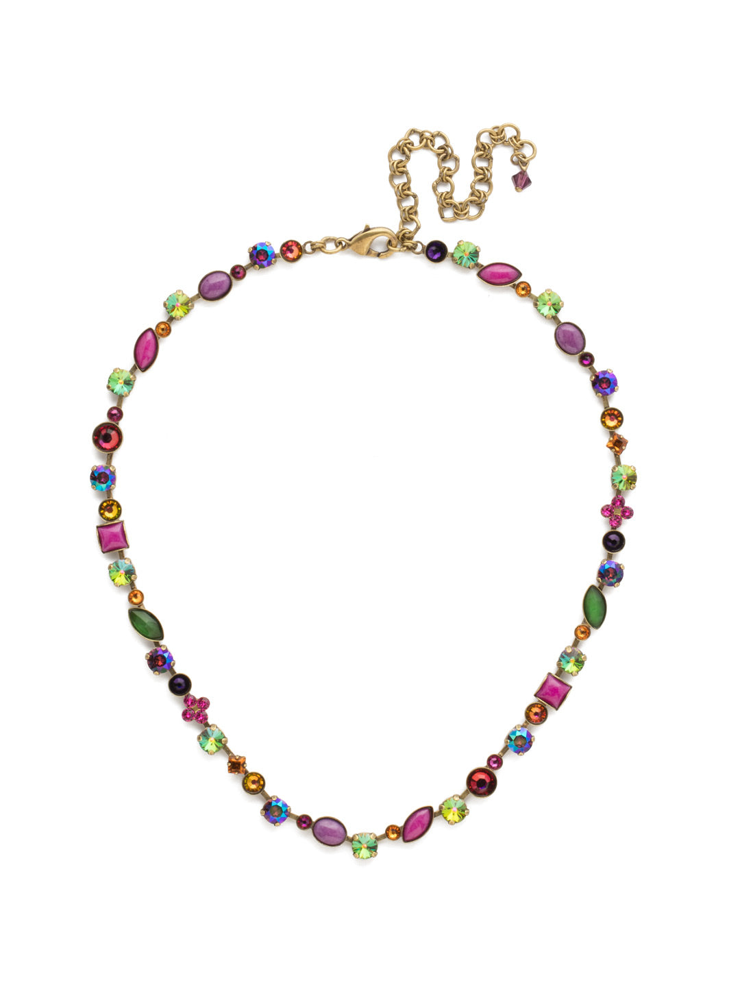Classic Tee-Shirt Tennis Necklace - NAQ3AGVO