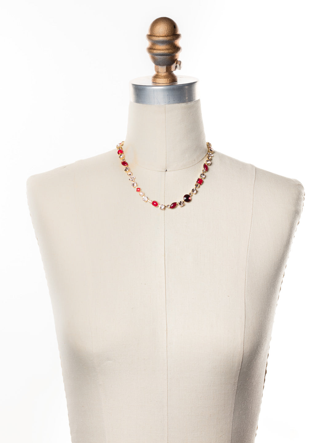 Classic Tee-Shirt Tennis Necklace - NAQ3BGSRC