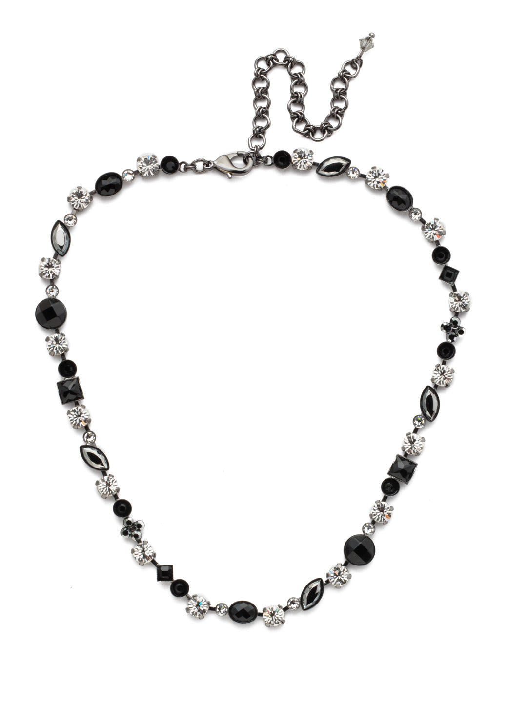 Classic Tee-Shirt Tennis Necklace - NAQ3GMMMO