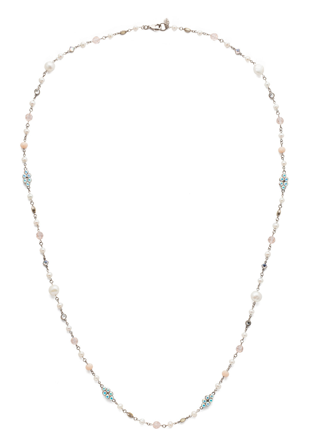 Lilliana Long Strand Necklace - NBN122ASSCL
