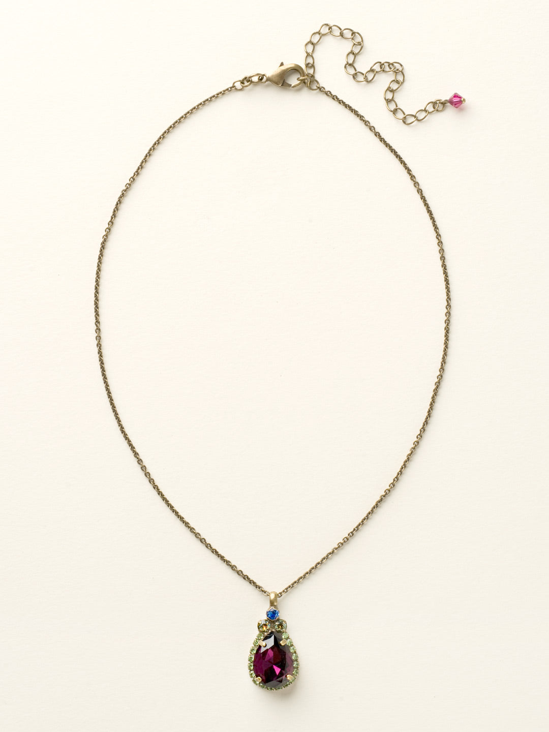 Sweet Sparkle Necklace - NCM19AGSWB
