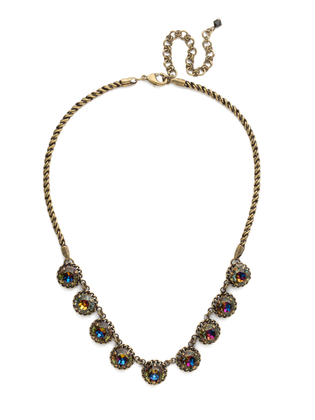 Roped In Statement Necklace - NCN1AGVO