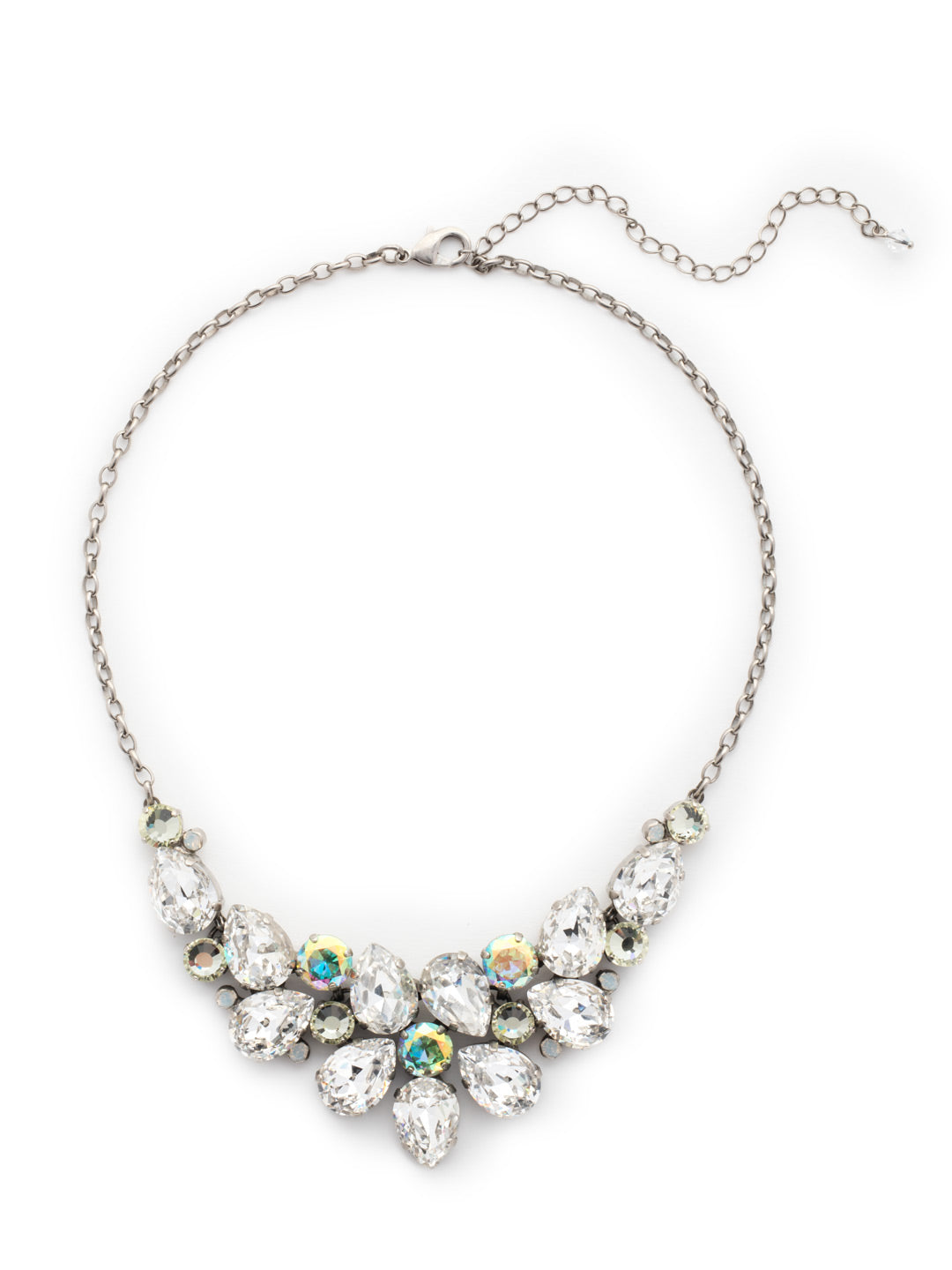 Dare To Pear Crystal Statement Necklace - NCP3ASLZ