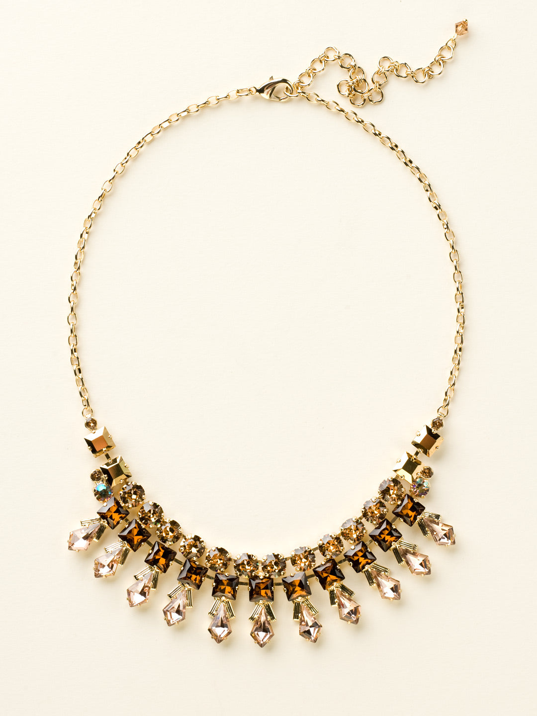 Belle of the Ball Bib Necklace - NCQ1BGGOL