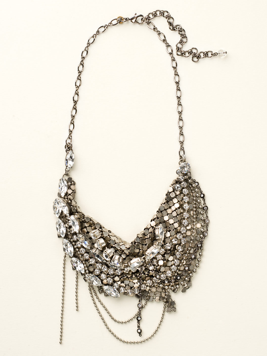 Meant to Mesh Bib Necklace - NCR68ASCCL