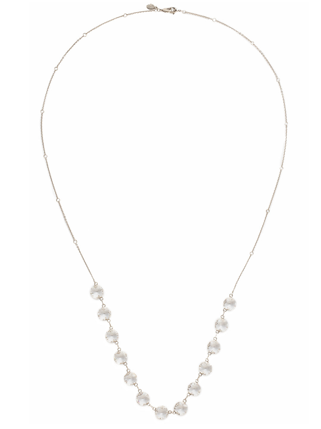 Crystal Rain Long Strand Necklace - NCR71ASCRY