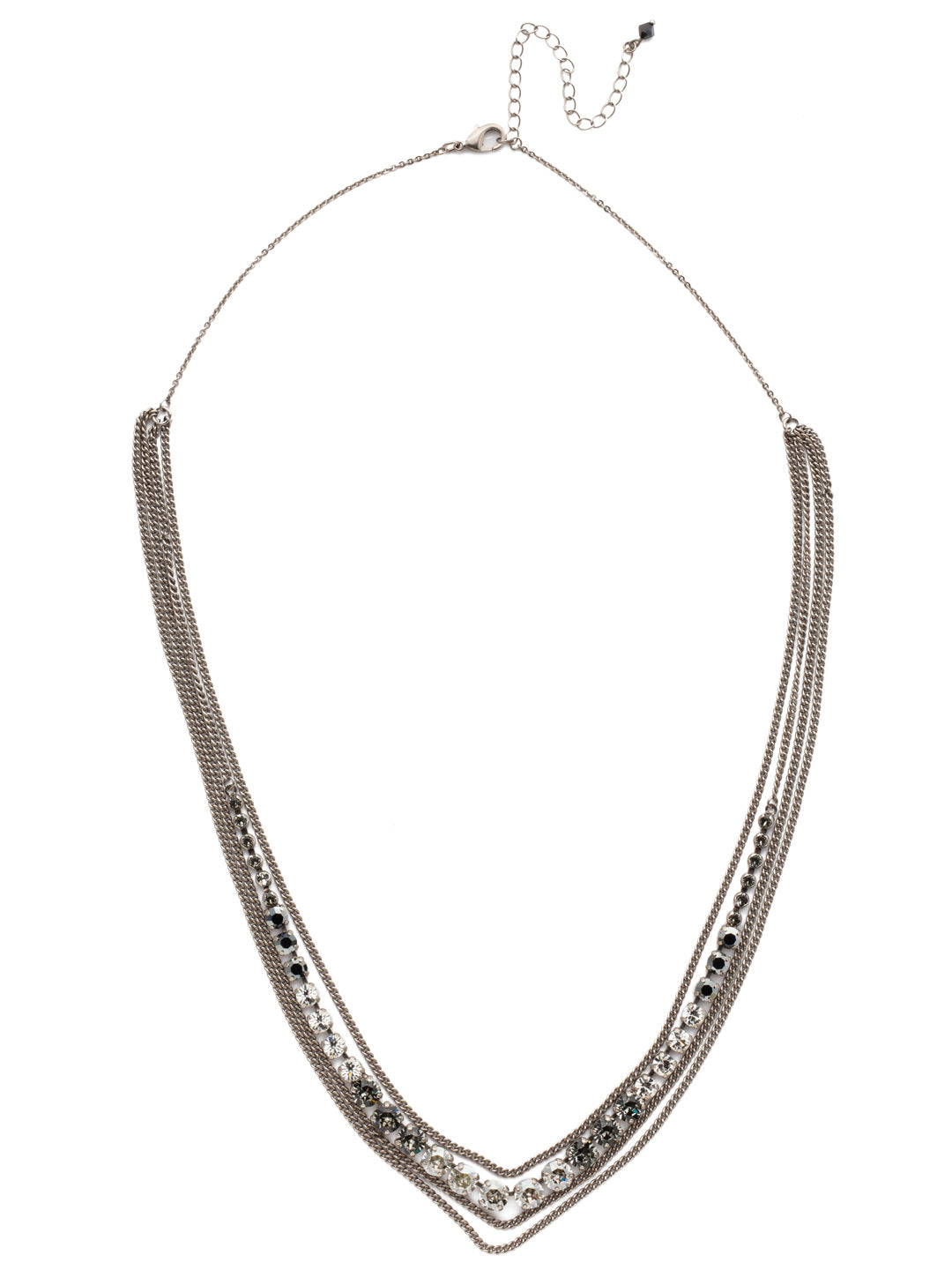 Layer It On Multi-Strand Layered Necklace - NCR73ASCRO