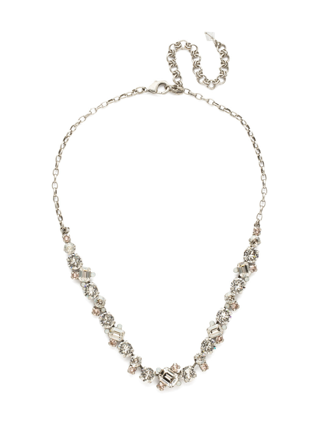 Novelty Multi-Cut Crystal Necklace - NDB78ASCLA