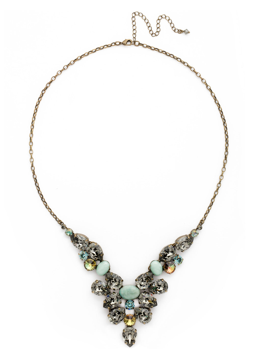Chambray Statement Necklace - NDE59AGCRP