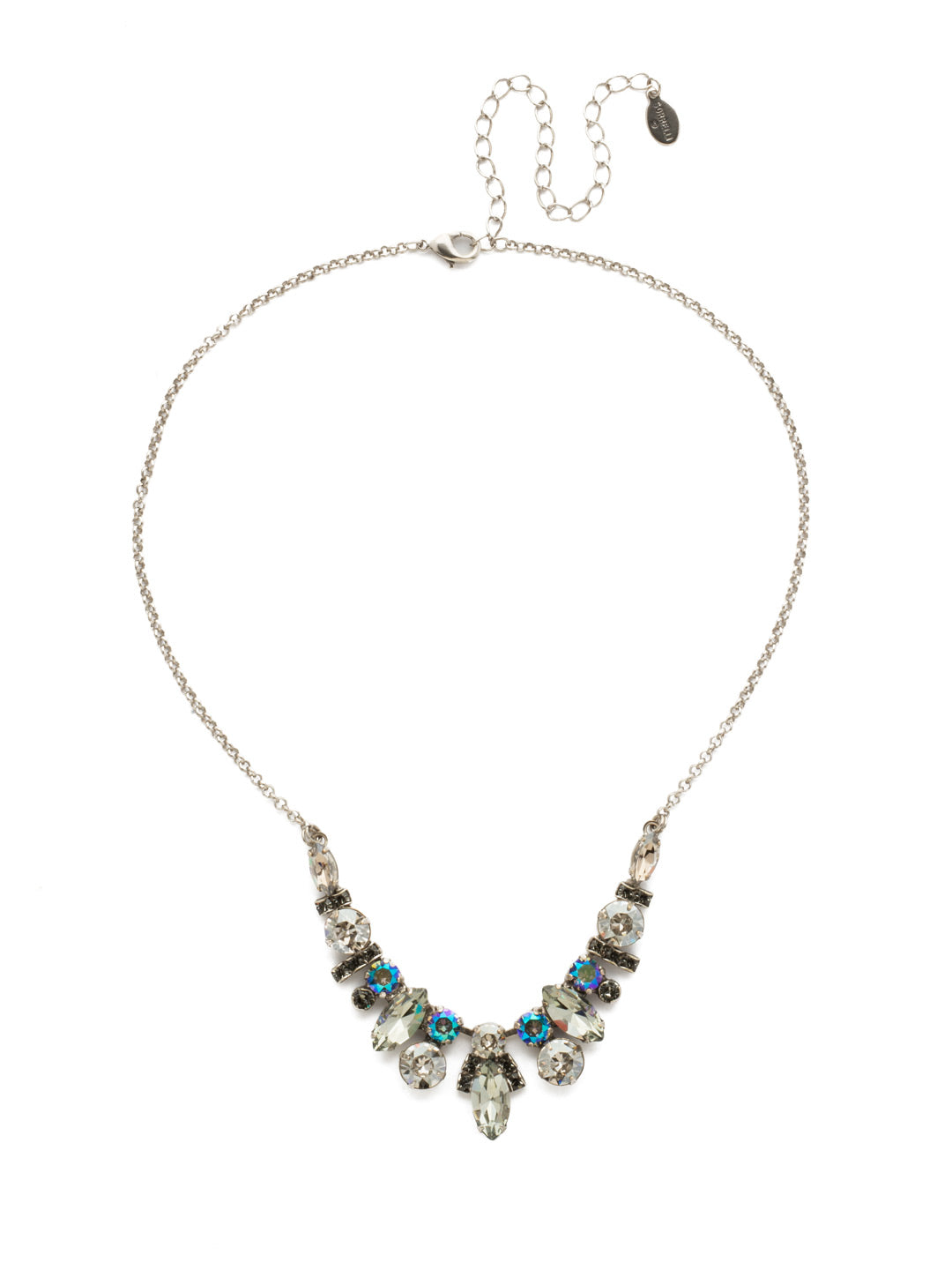 Noveau Navette Statement Necklace - NDG90ASCRO