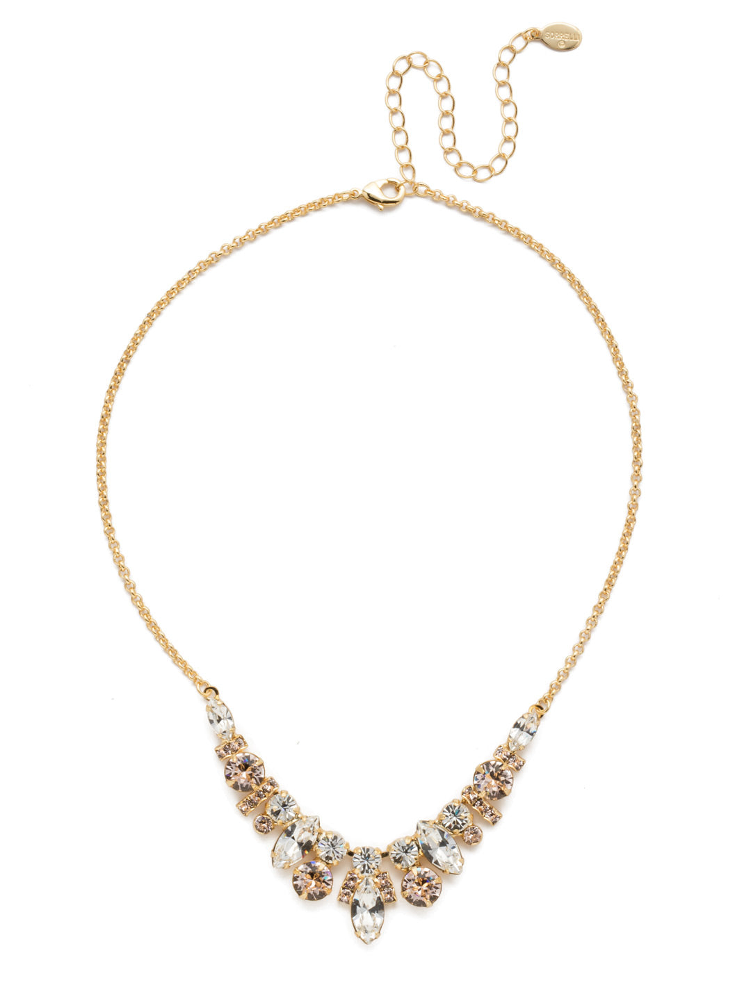 Noveau Navette Statement Necklace - NDG90BGPLS