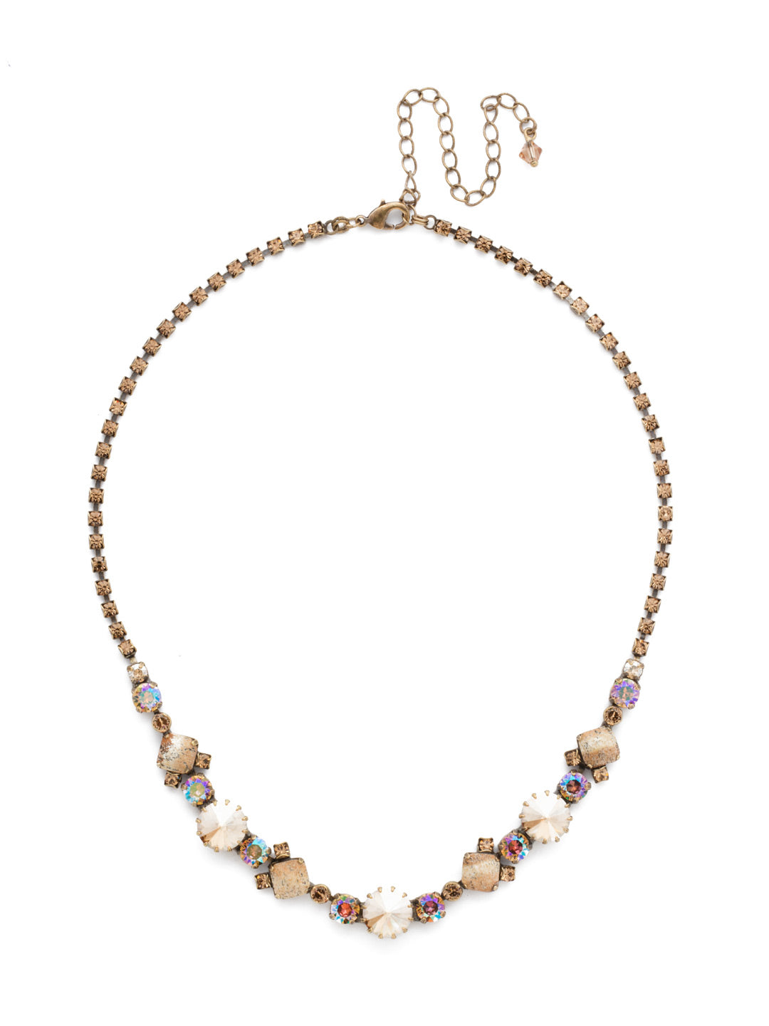 Classic Chiffon Line Necklace - NDH7AGNT