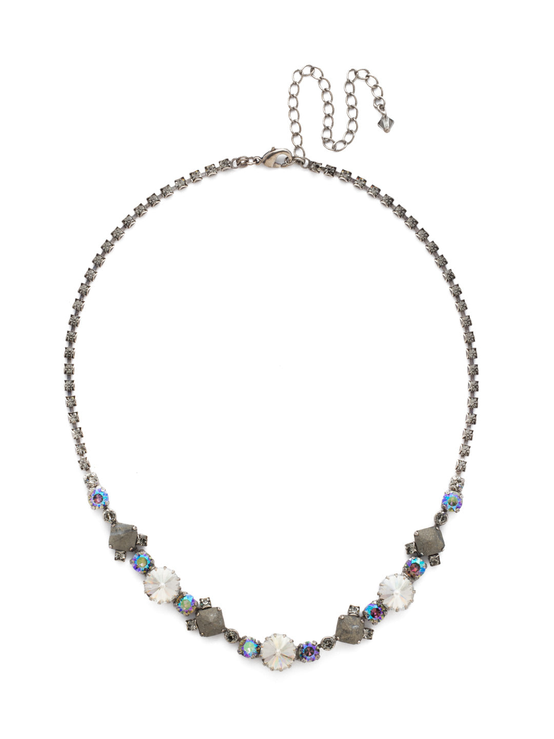 Classic Chiffon Line Necklace - NDH7ASCRO