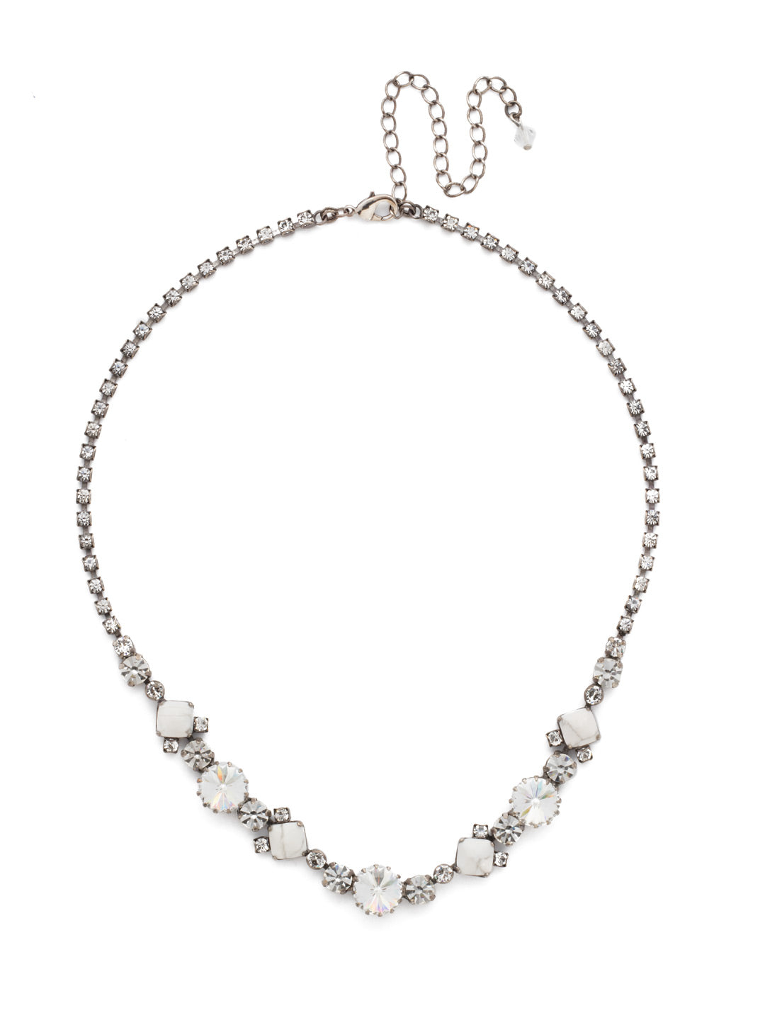 Classic Chiffon Line Necklace - NDH7ASCRY