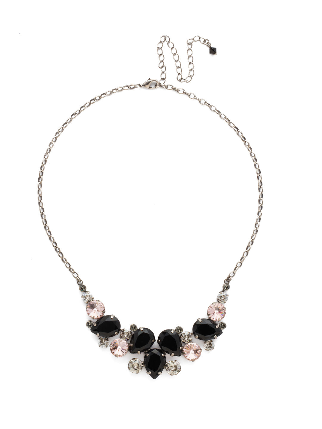 Nested Pear Statement Necklace - NDJ14ASCNO