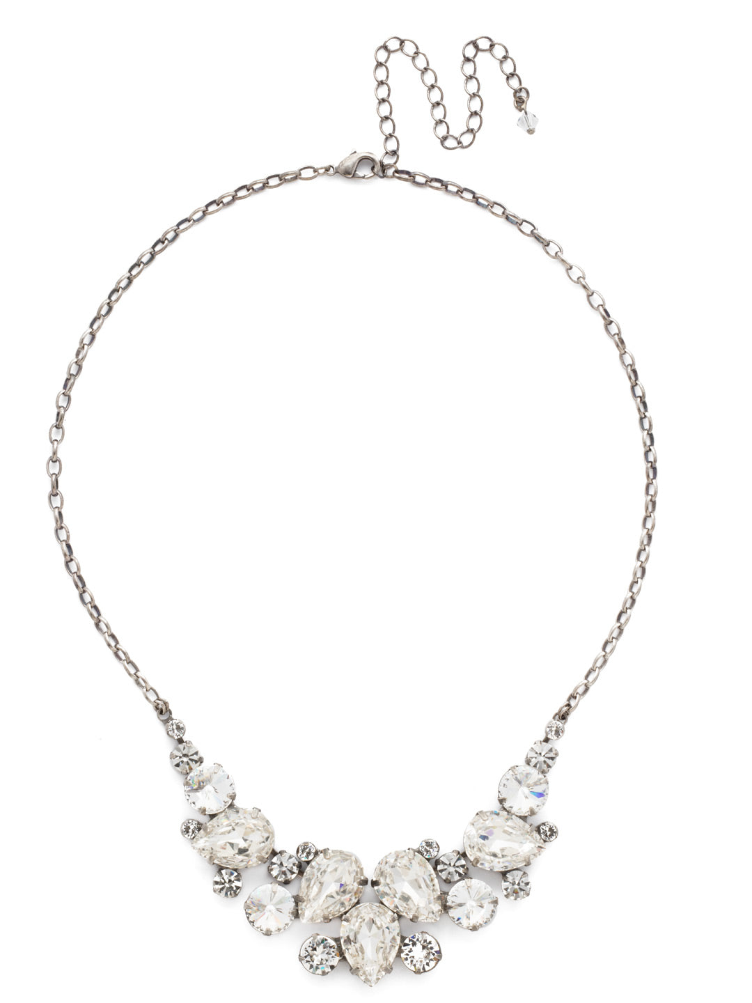 Nested Pear Statement Necklace - NDJ14ASCRY