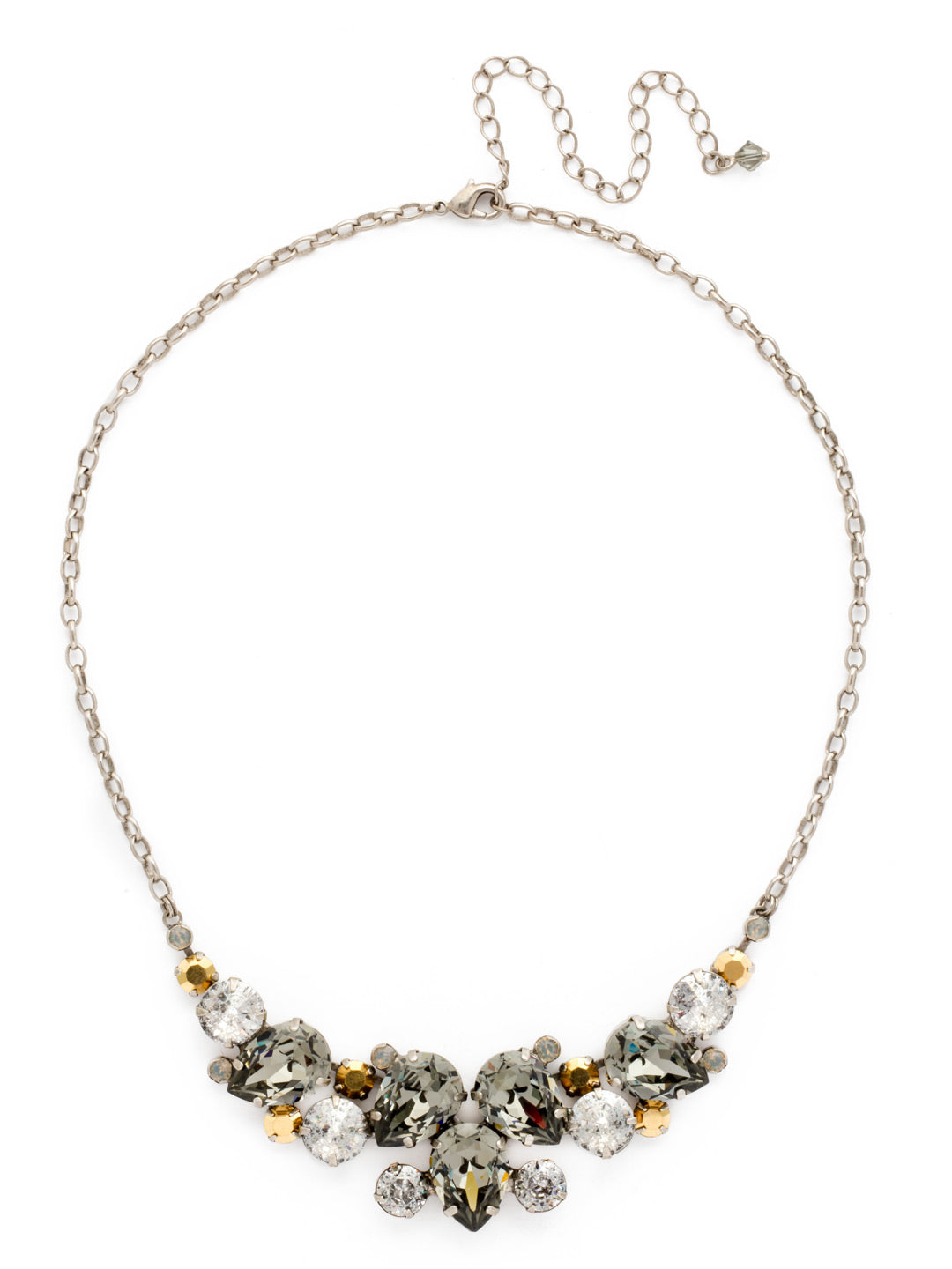 Nested Pear Statement Necklace - NDJ14ASGV