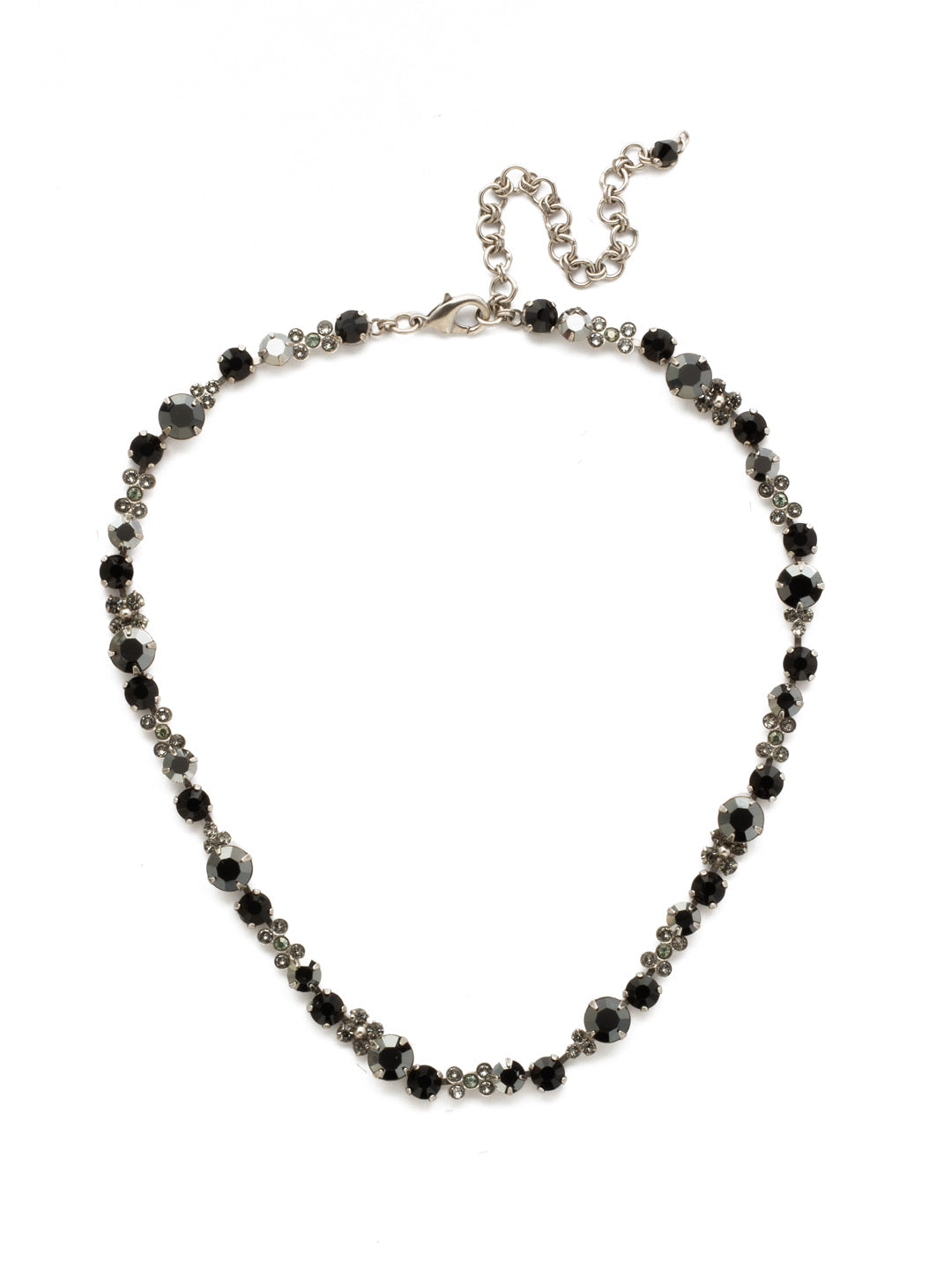 In Bloom Line Necklace - NDK10ASBON