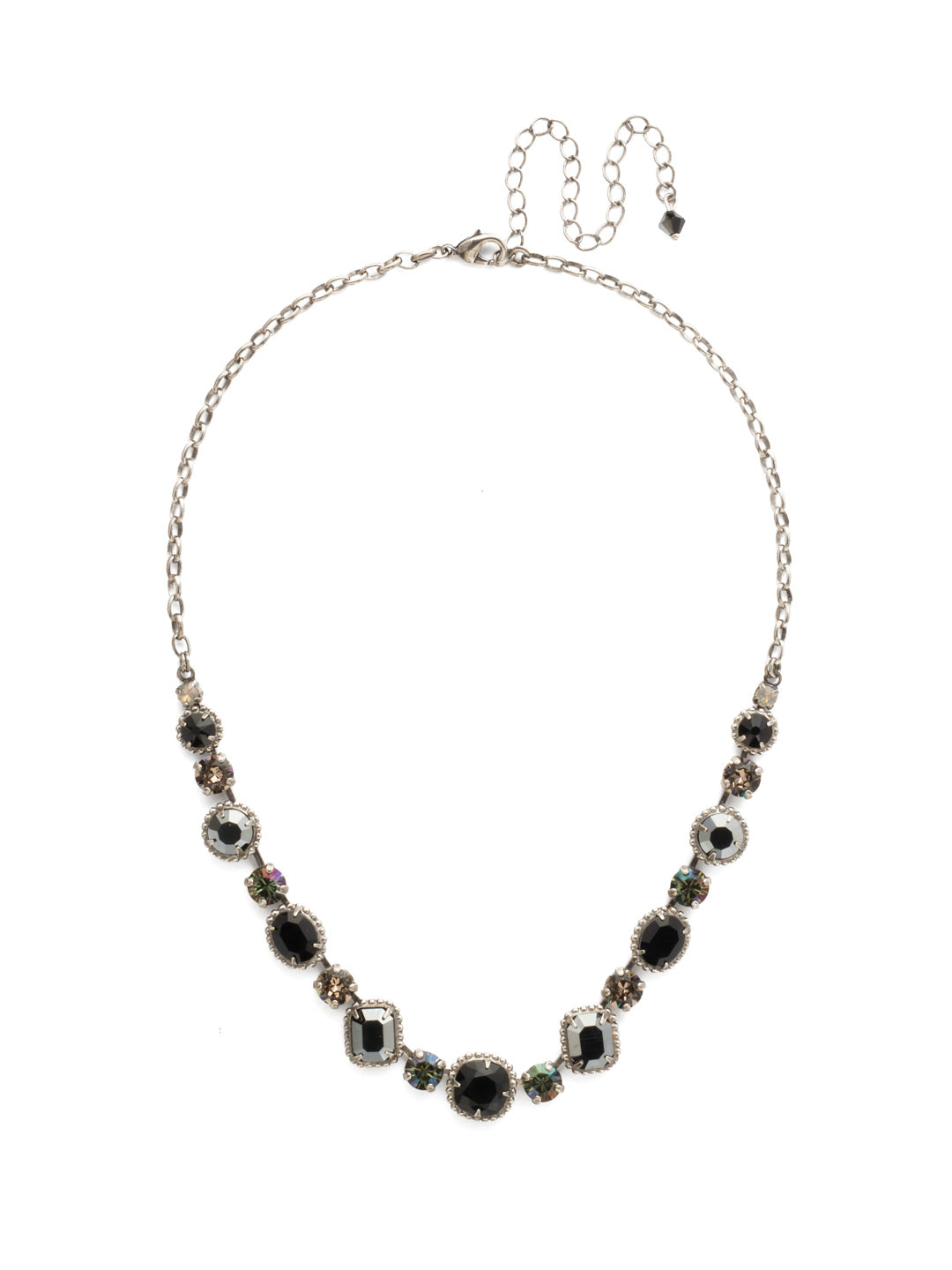 Embellished Elegance Necklace - NDK14ASBON