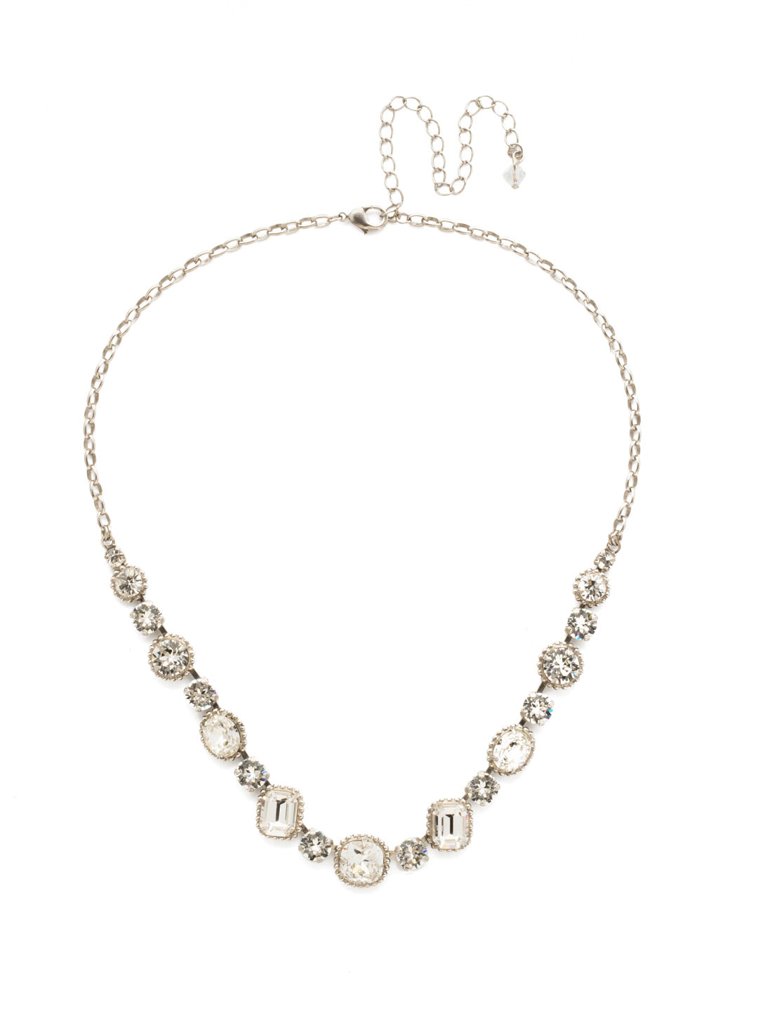 Embellished Elegance Necklace - NDK14ASCRY