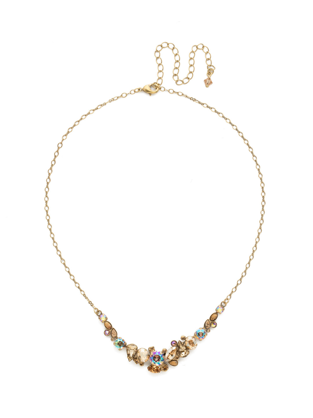 Asymmetric Cluster Necklace - NDK16AGNT