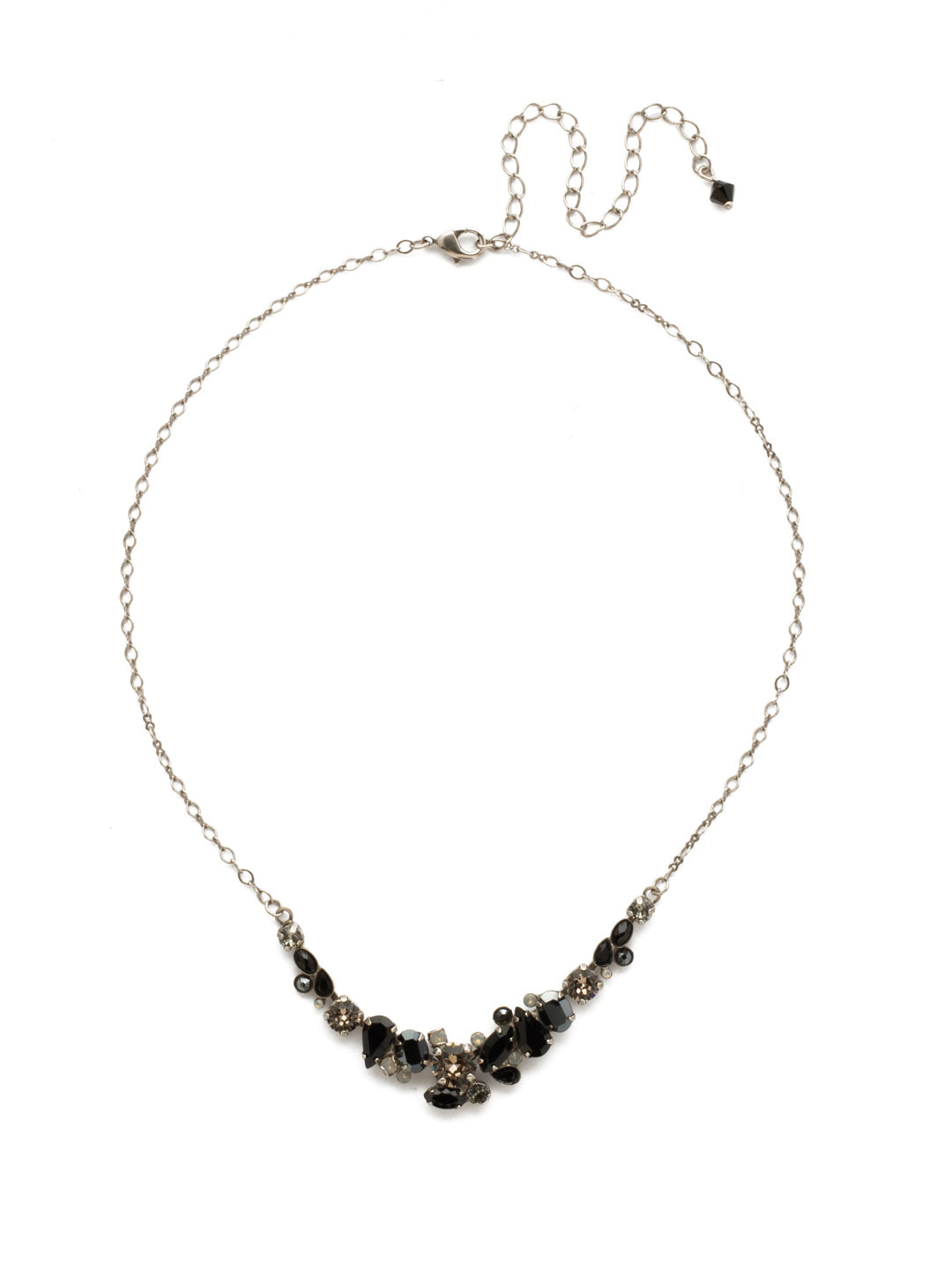 Asymmetric Cluster Necklace - NDK16ASBON