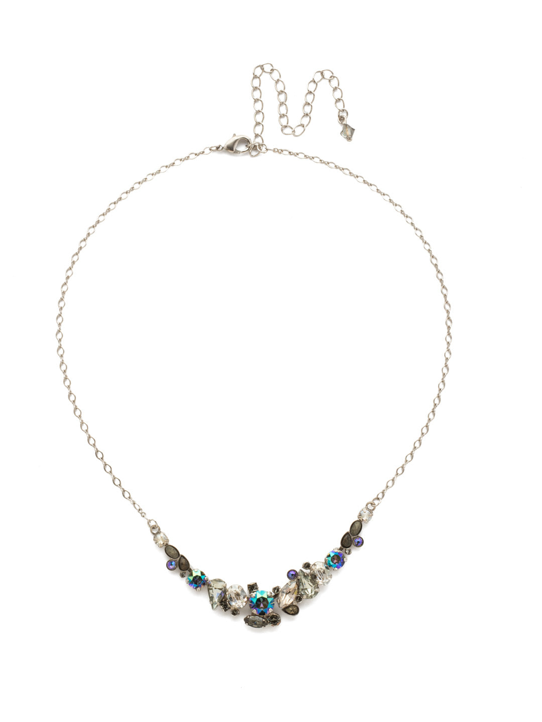 Asymmetric Cluster Necklace - NDK16ASCRO