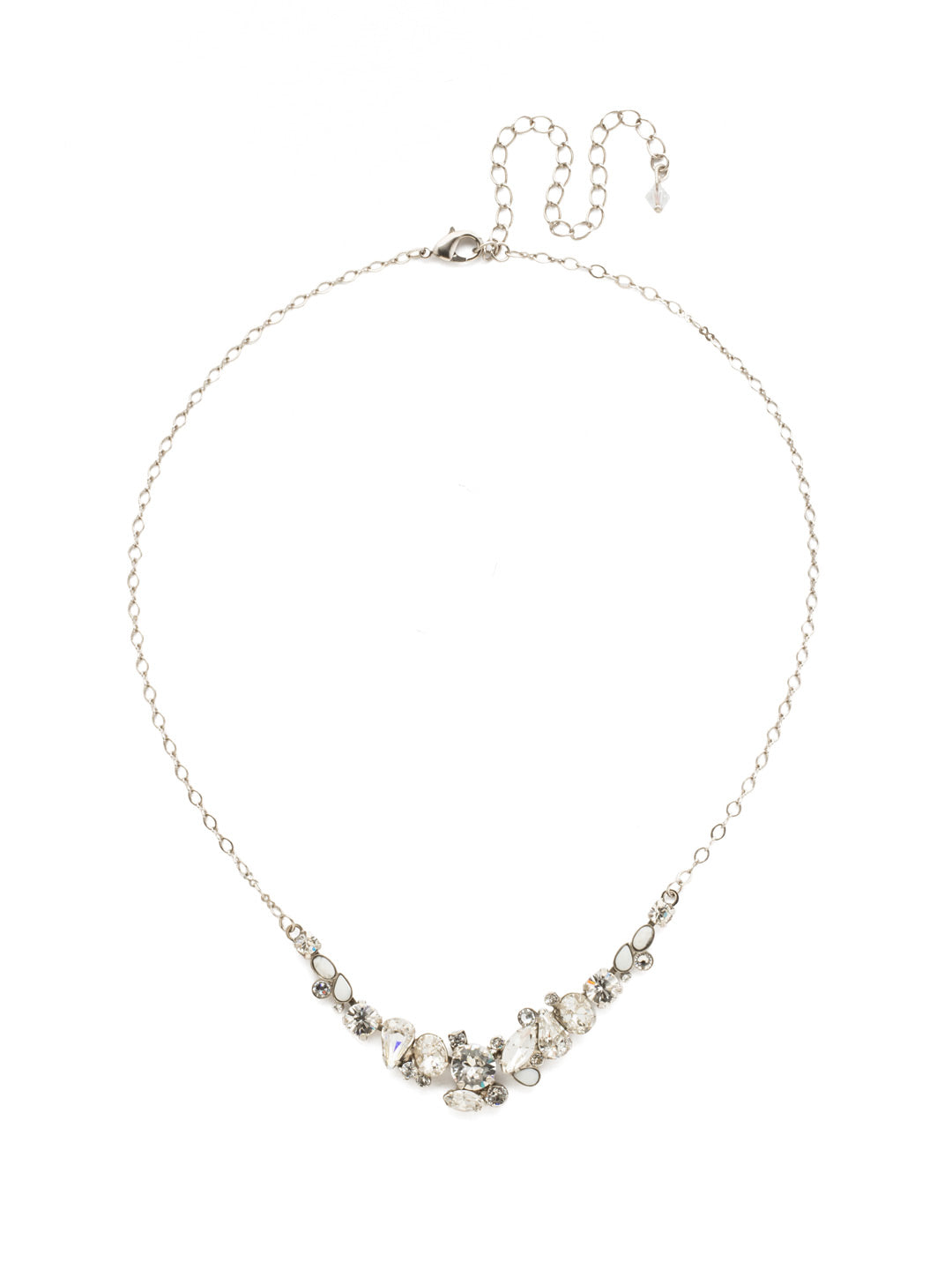 Asymmetric Cluster Necklace - NDK16ASCRY