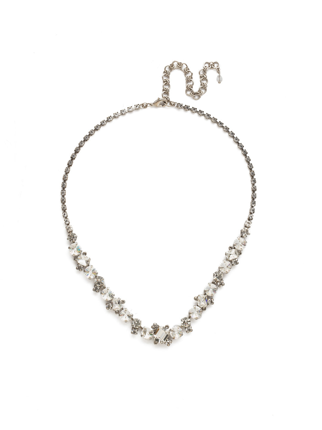 Sophisticated Tennis Necklace - NDK17ASCRY