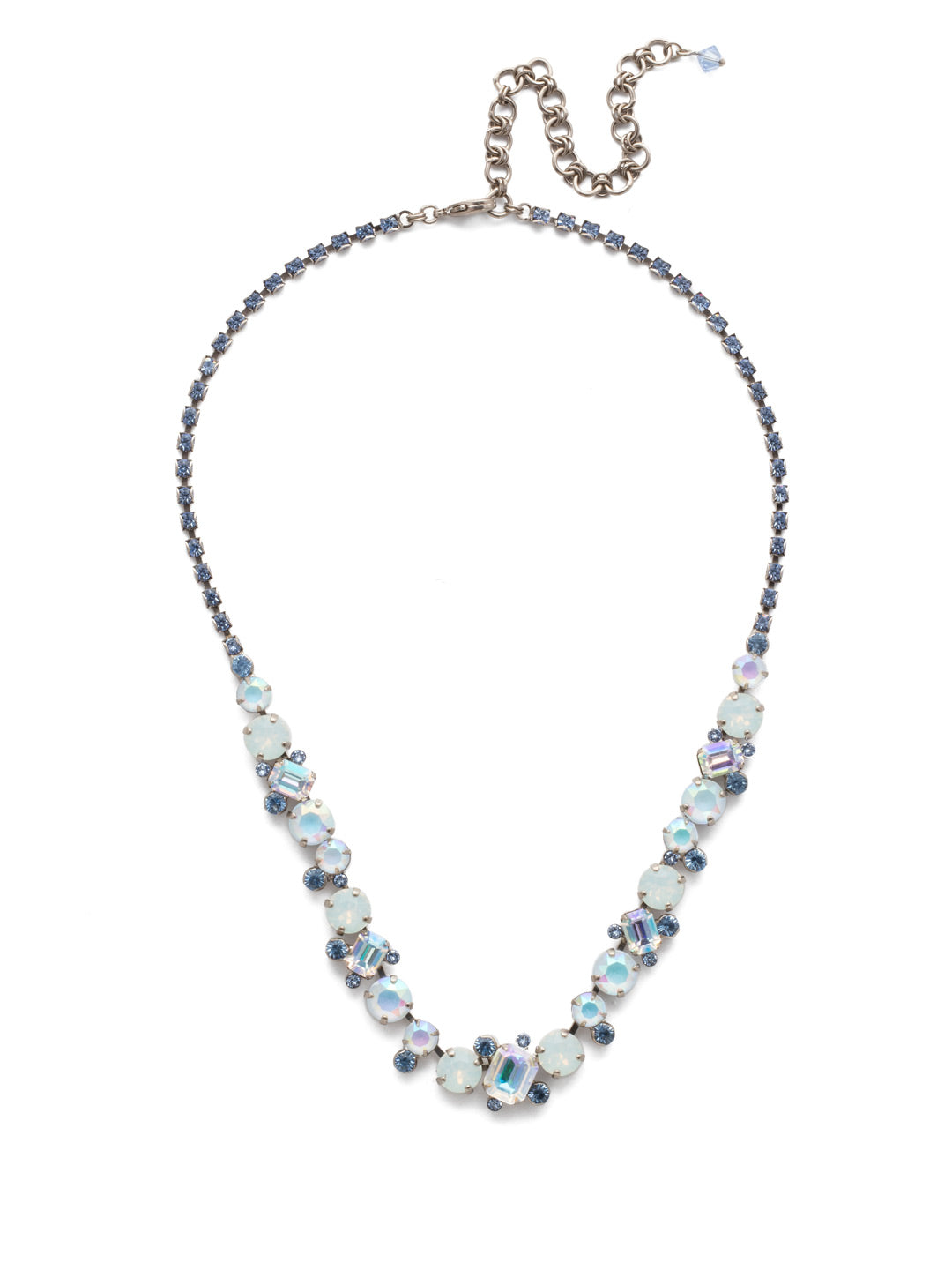 Sophisticated Tennis Necklace - NDK17ASGLC