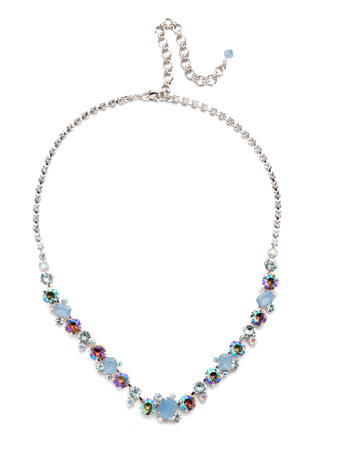 Sophisticated Tennis Necklace - NDK17RHNTB