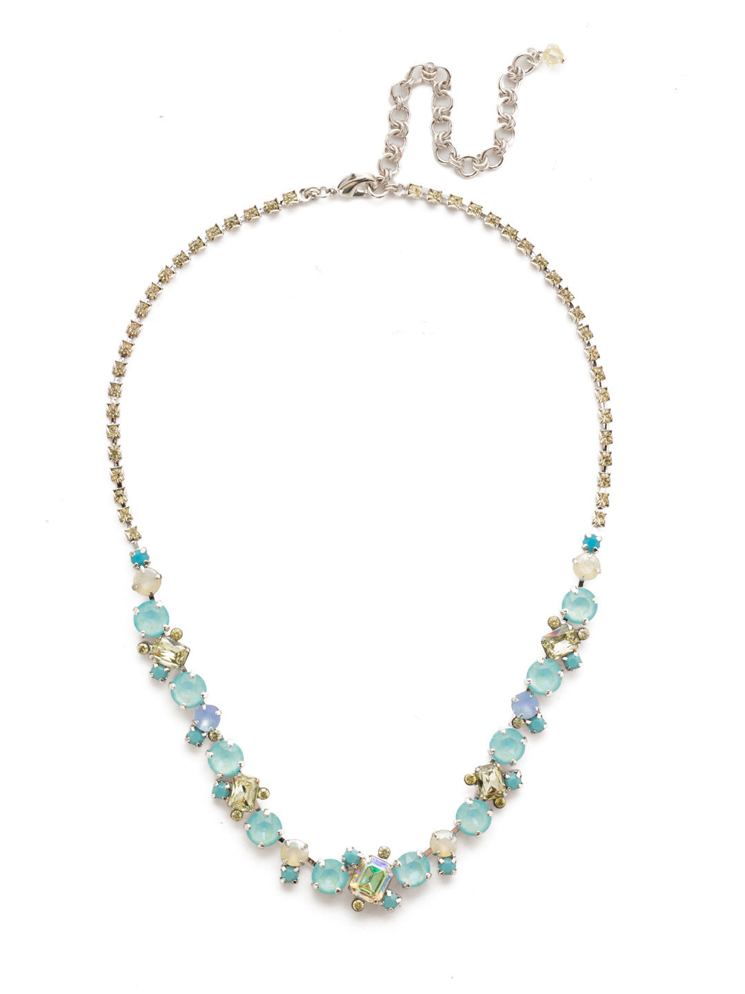Sophisticated Tennis Necklace - NDK17RHTHT