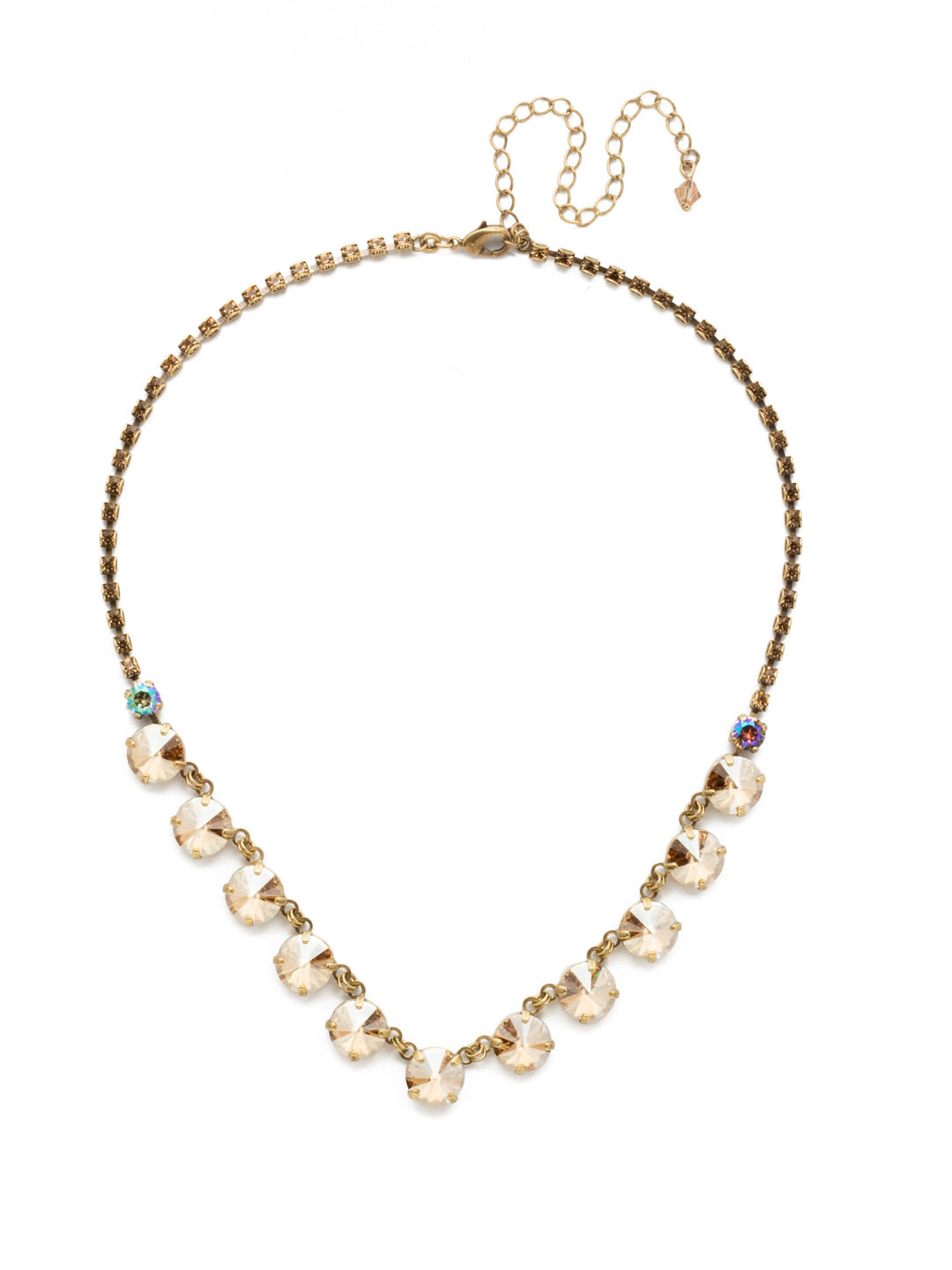 Simply Sophisticated Line Necklace - NDK6AGNT