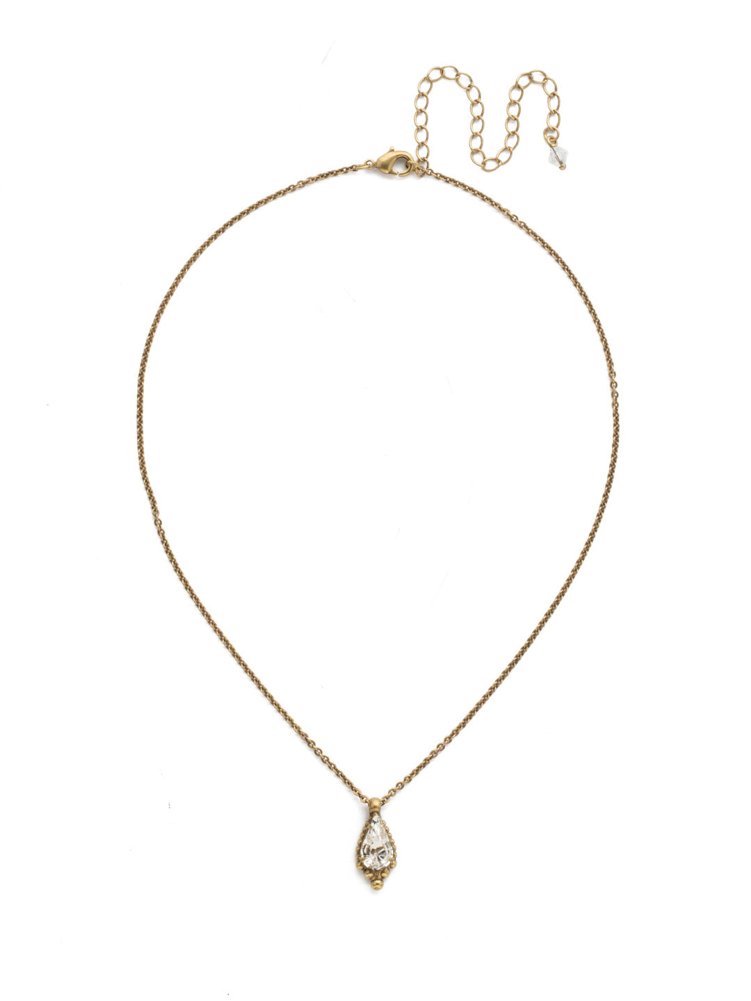 Alina Necklace - NDK80AGCRY
