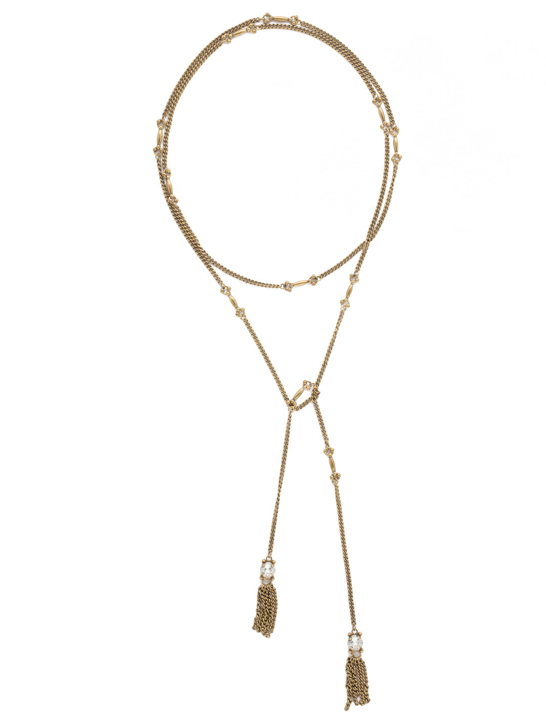 All Tied Up Necklace - NDL25AGCRY