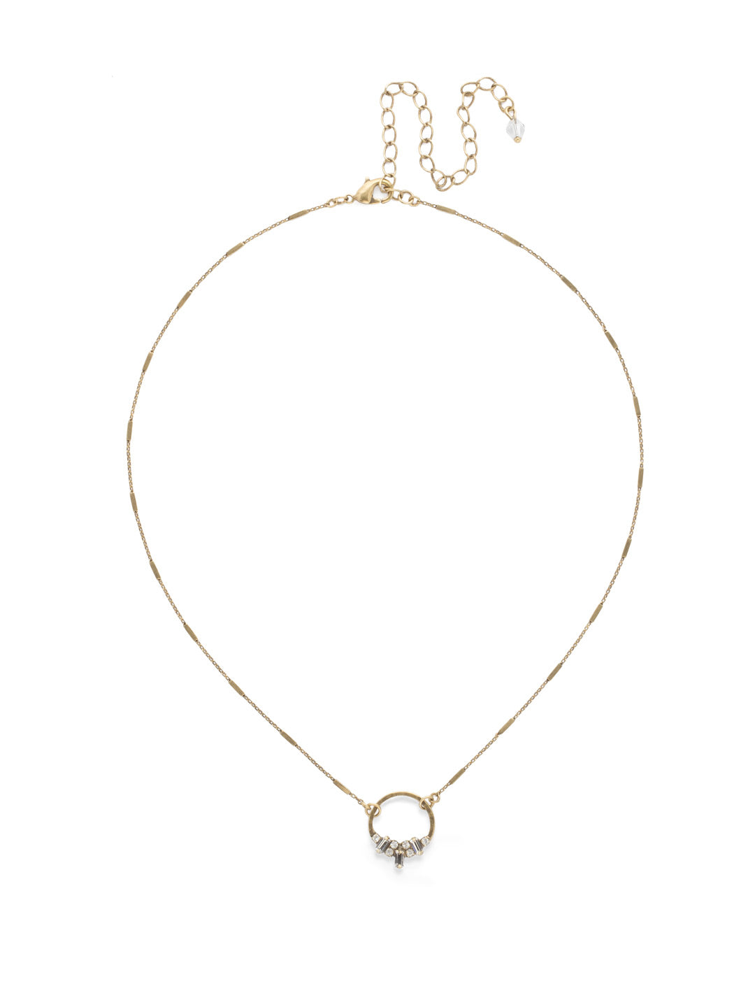 Haute Pendant Necklace - NDL28AGCRY