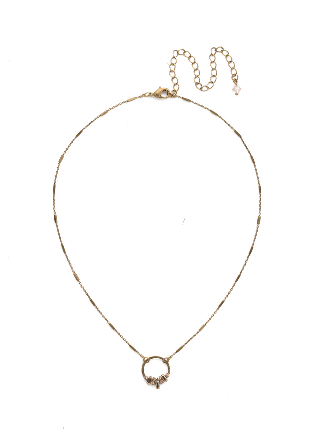 Haute Pendant Necklace - NDL28AGNT