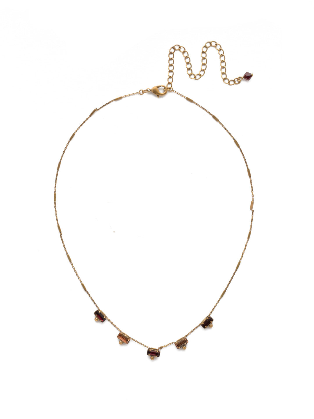 Shine and Dash Tennis Necklace - NDM17AGMMA