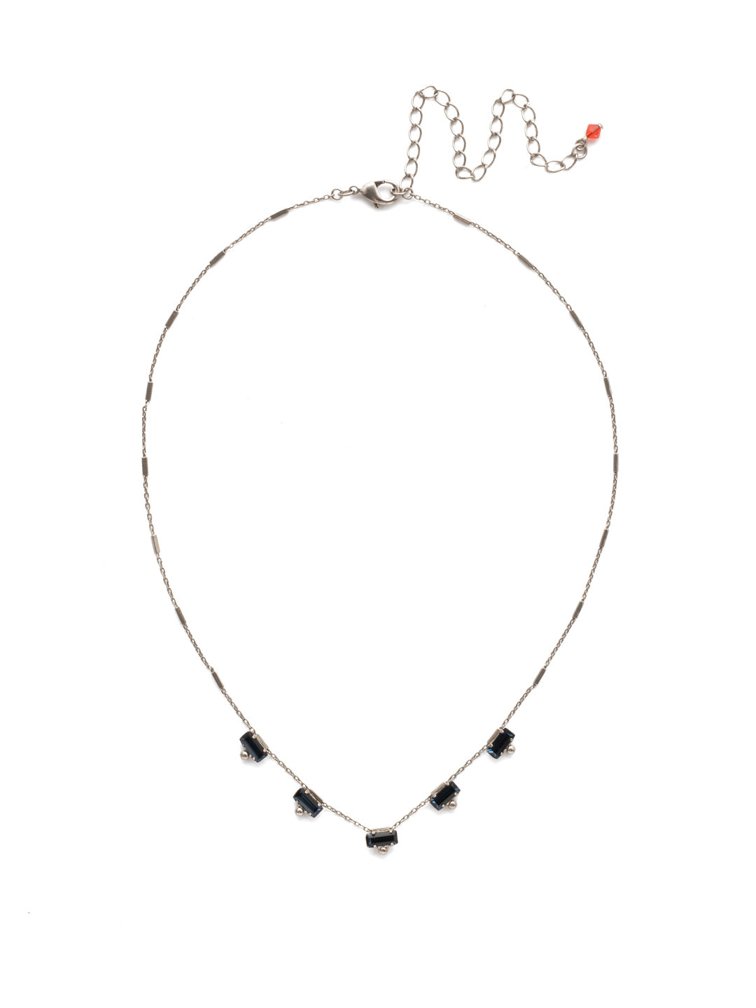 Shine and Dash Tennis Necklace - NDM17ASBTB