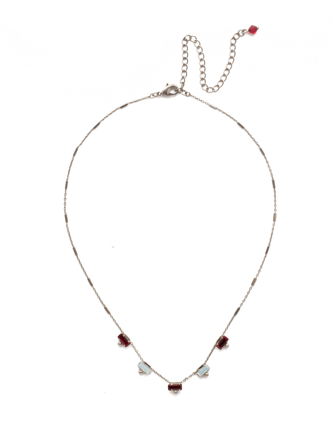 Shine and Dash Tennis Necklace - NDM17ASCP